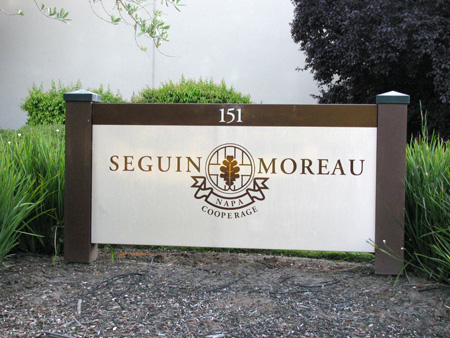 Seguin Moreau Entrance Sign